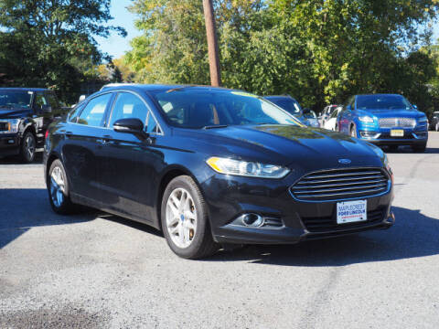 2016 Ford Fusion for sale at MAPLECREST FORD LINCOLN USED CARS in Vauxhall NJ