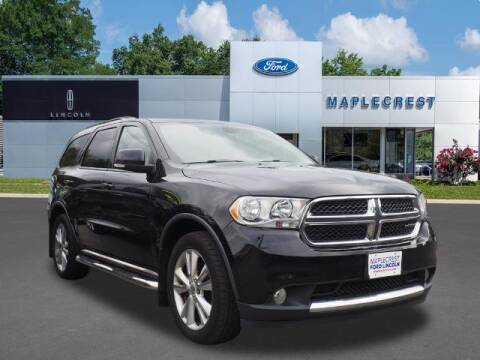 2012 Dodge Durango for sale at MAPLECREST FORD LINCOLN USED CARS in Vauxhall NJ
