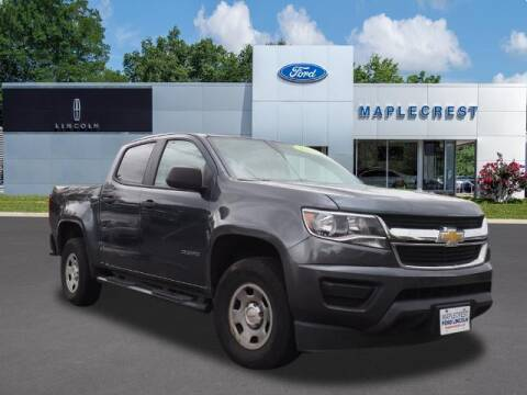 2015 Chevrolet Colorado for sale at MAPLECREST FORD LINCOLN USED CARS in Vauxhall NJ