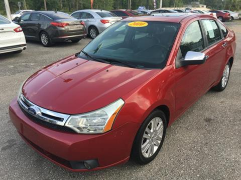 2010 Ford Focus for sale at Uprite Auto Sales in Crawfordville FL