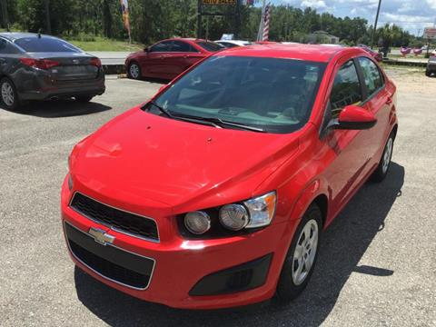 2014 Chevrolet Sonic for sale at Uprite Auto Sales in Crawfordville FL