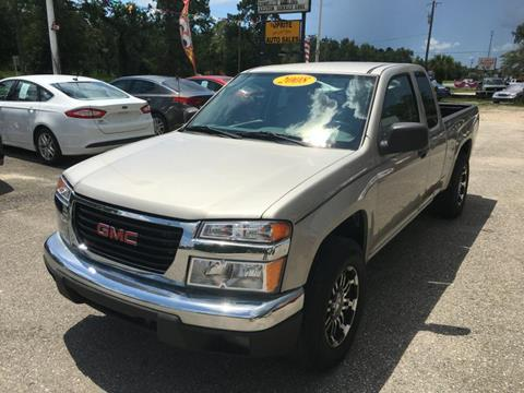 2008 GMC Canyon for sale at Uprite Auto Sales in Crawfordville FL