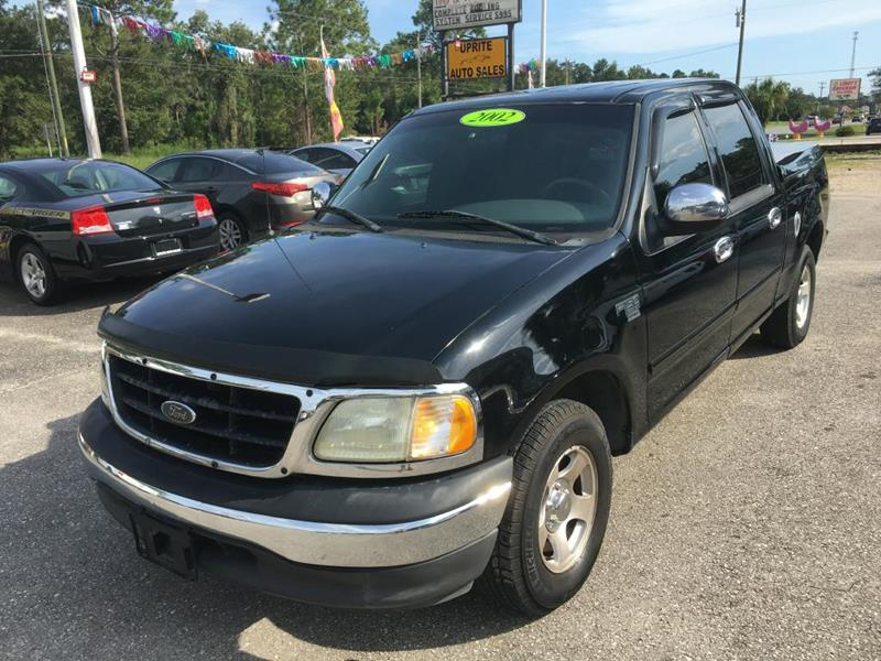 2002 Ford F-150 for sale at Uprite Auto Sales in Crawfordville FL