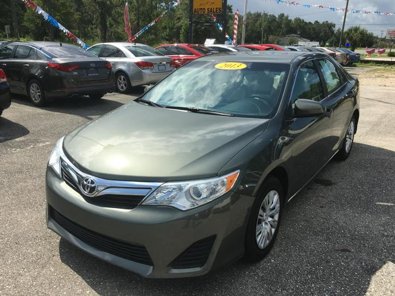2013 Toyota Camry for sale at Uprite Auto Sales in Crawfordville FL