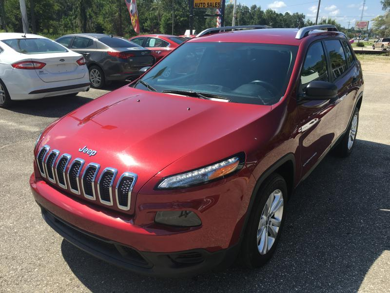 2015 Jeep Cherokee for sale at Uprite Auto Sales in Crawfordville FL