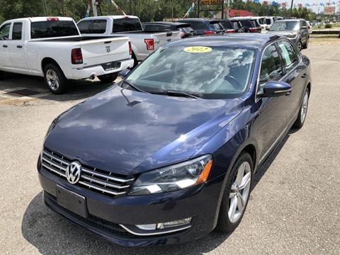2012 Volkswagen Passat for sale in Crawfordville, FL