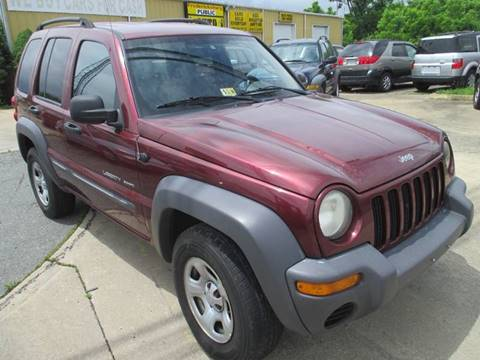 2003 Jeep Liberty for sale at FPAA in Fredericksburg VA