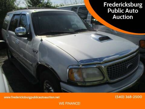 1999 Ford Expedition for sale at FPAA in Fredericksburg VA
