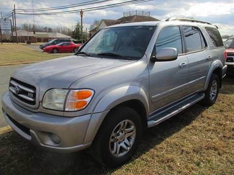 2003 Toyota Sequoia for sale at FPAA in Fredericksburg VA