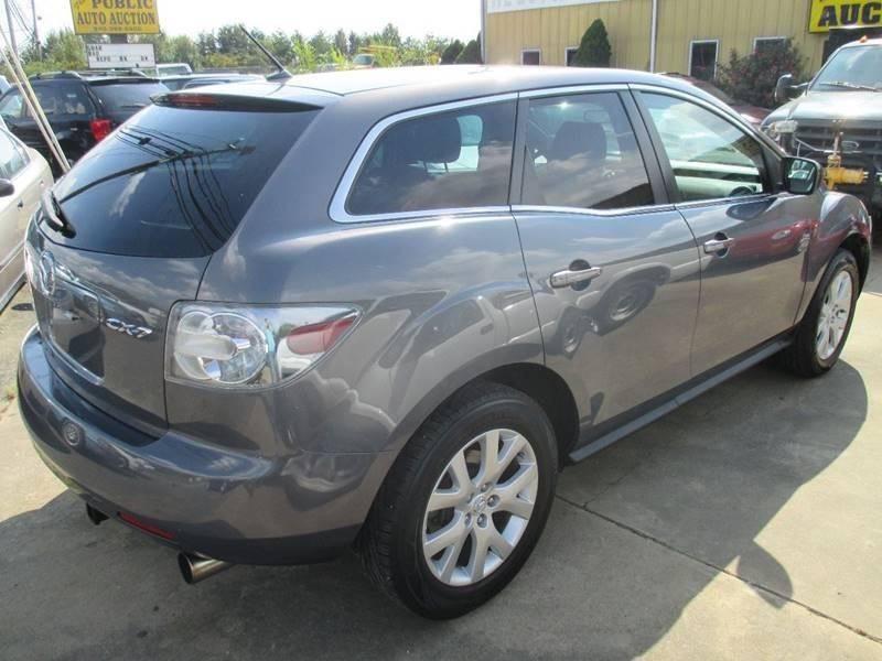 2007 Mazda CX 7 For Sale At Fredericksburg Public Auto Auction In  Fredericksburg VA