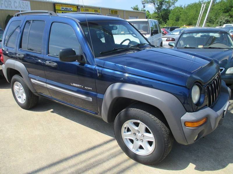 2002 jeep liberty sport in fredericksburg va fredericksburg public auto auction. Black Bedroom Furniture Sets. Home Design Ideas