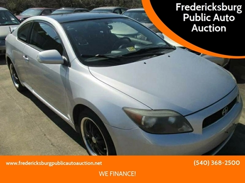 2005 Scion tC for sale at FPAA in Fredericksburg VA
