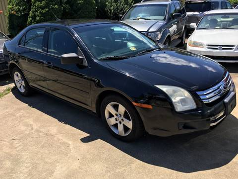 2007 Ford Fusion for sale at FPAA in Fredericksburg VA