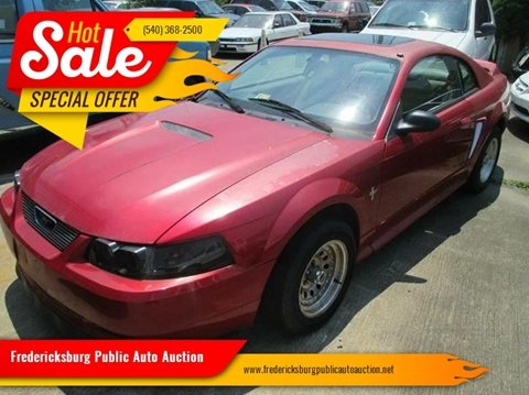 2000 Ford Mustang for sale at FPAA in Fredericksburg VA