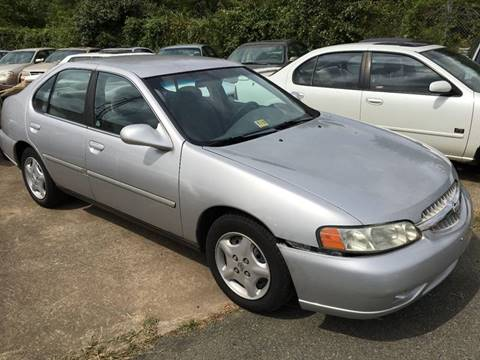 2001 Nissan Altima for sale at FPAA in Fredericksburg VA