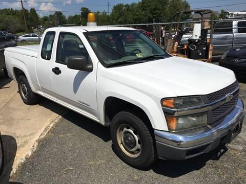 2004 Chevrolet Colorado for sale at FPAA in Fredericksburg VA