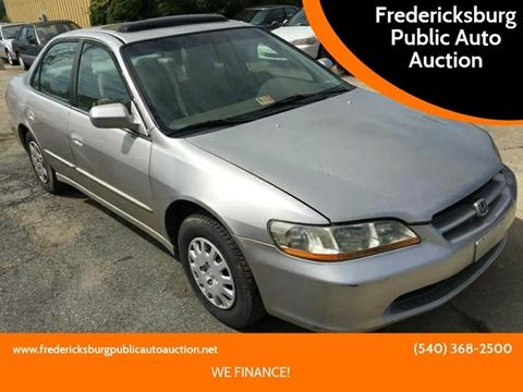 1998 Honda Accord for sale in Fredericksburg, VA
