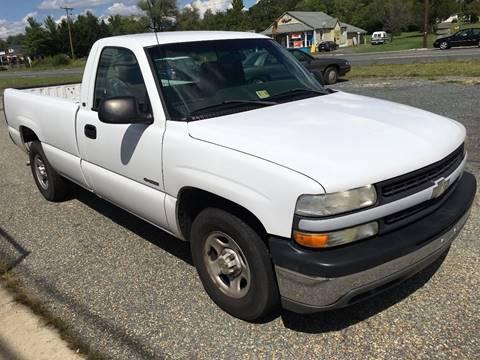2002 Chevrolet Silverado 1500 for sale at FPAA in Fredericksburg VA