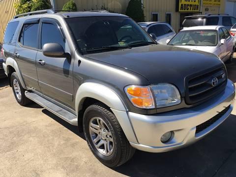 2003 Toyota Sequoia for sale in Fredericksburg, VA
