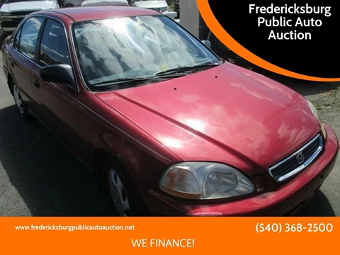 1998 Honda Civic for sale in Fredericksburg, VA