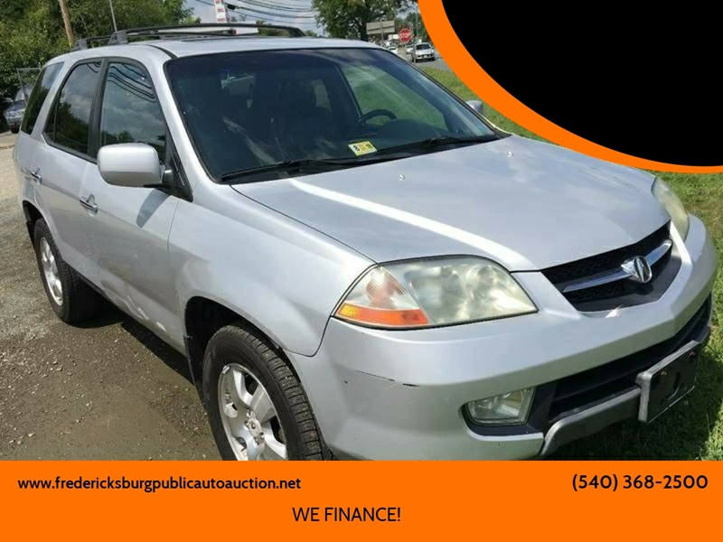 2003 acura mdx in fredericksburg va fredericksburg public auto rh fredericksburgpublicautoauction net
