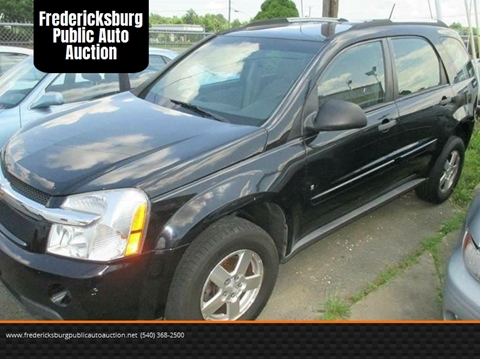 2007 Chevrolet Equinox for sale at FPAA in Fredericksburg VA