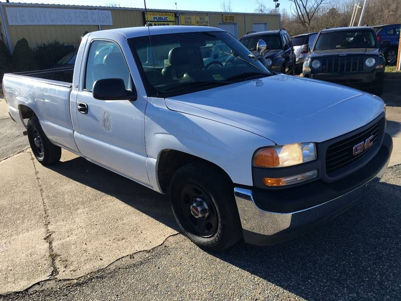 2001 gmc sierra 1500 sl in fredericksburg va fredericksburg public auto auction. Black Bedroom Furniture Sets. Home Design Ideas