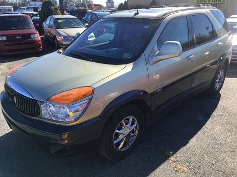 2003 Buick Rendezvous for sale at FPAA in Fredericksburg VA