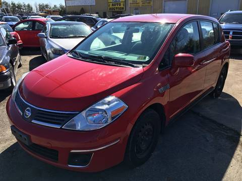 2009 Nissan Versa for sale at FPAA in Fredericksburg VA