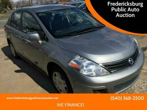 2011 Nissan Versa for sale at FPAA in Fredericksburg VA
