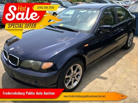 2002 BMW 3 Series for sale at FPAA in Fredericksburg VA