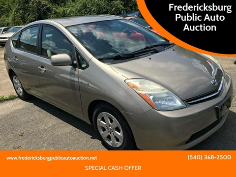 2006 Toyota Prius for sale at FPAA in Fredericksburg VA