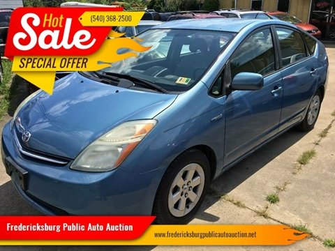 2007 Toyota Prius for sale at FPAA in Fredericksburg VA