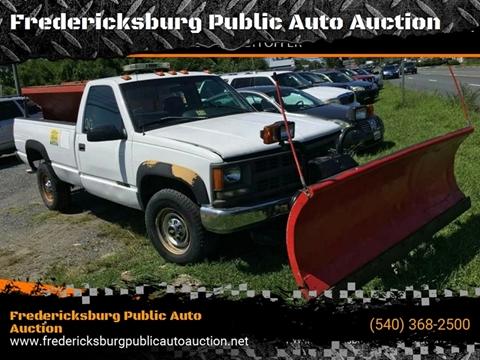 1996 Chevrolet C/K 2500 Series for sale at FPAA in Fredericksburg VA