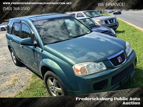 2007 Saturn Vue for sale at FPAA in Fredericksburg VA