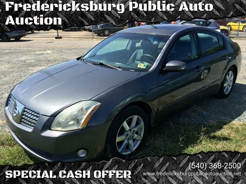 2005 Nissan Maxima for sale at FPAA in Fredericksburg VA
