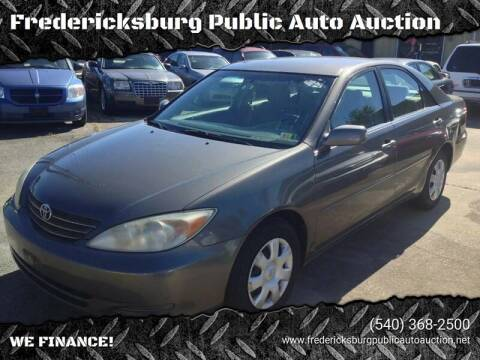 2004 Toyota Camry for sale at FPAA in Fredericksburg VA