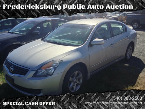 2009 Nissan Altima Hybrid for sale at FPAA in Fredericksburg VA