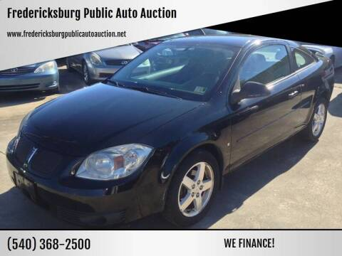 2007 Pontiac G5 for sale at FPAA in Fredericksburg VA