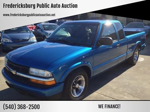 2002 Chevrolet S-10 for sale at FPAA in Fredericksburg VA