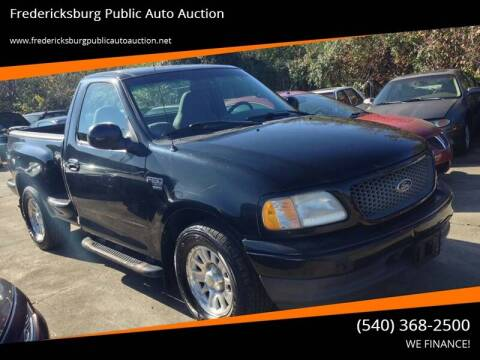 2001 Ford F-150 for sale at FPAA in Fredericksburg VA