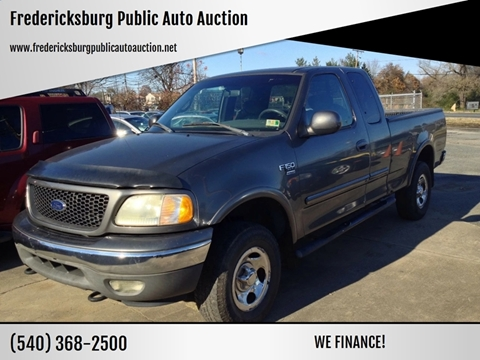 2002 Ford F-150 for sale at FPAA in Fredericksburg VA