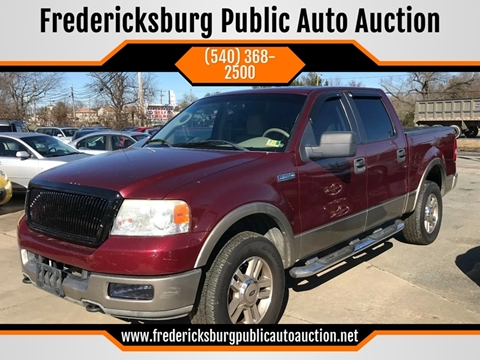 2005 Ford F-150 for sale at FPAA in Fredericksburg VA