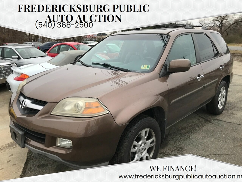 6ea4cbbe98 2004 Acura MDX for sale at Fredericksburg Public Auto Auction in  Fredericksburg VA