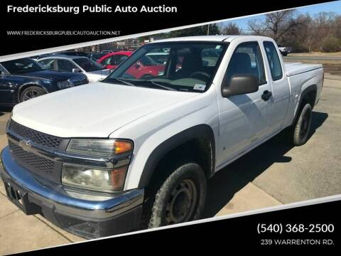 2006 Chevrolet Colorado for sale at FPAA in Fredericksburg VA
