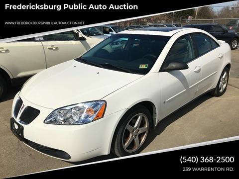 2007 Pontiac G6 for sale in Fredericksburg, VA