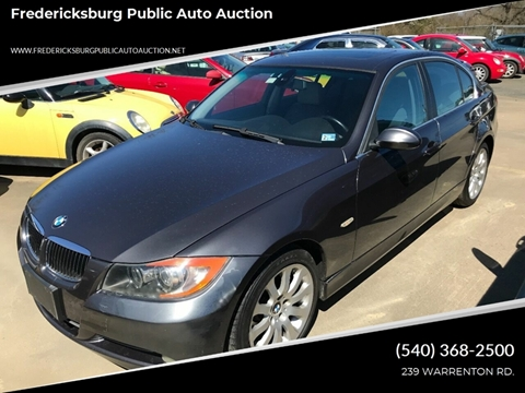 2006 BMW 3 Series for sale at FPAA in Fredericksburg VA