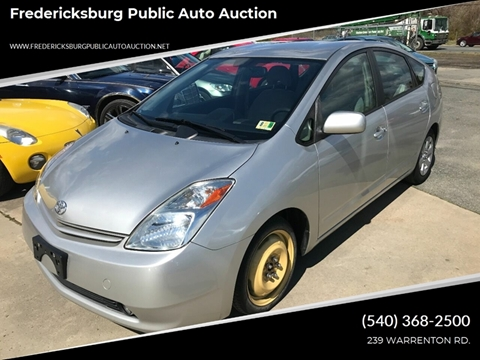 2005 Toyota Prius for sale at FPAA in Fredericksburg VA