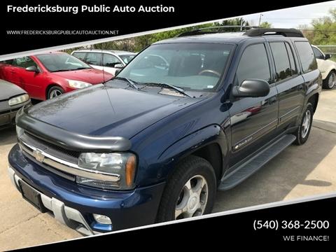 2003 Chevrolet TrailBlazer for sale at FPAA in Fredericksburg VA
