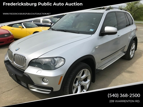 2008 BMW X5 for sale at FPAA in Fredericksburg VA